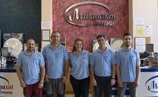 Pinturas Málaga Sol, tradición y vanguardia con la confianza de una tienda 'de siempre'