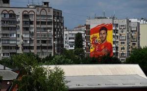 Krasnodar, engalanada para recibir a España