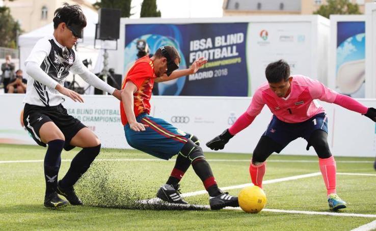 España gana en su debut en el Mundial de Fútbol ciegos con gol de Antonio Martín Gaitán