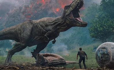 'Jurassic World: El reino caído' promete hacer temblar la cartelera