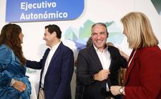 Moreno echa a rodar la maquinaria electoral de las andaluzas con Bendodo como director de campaña