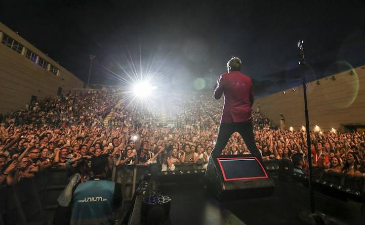 Fotos del concierto de Dani Martín en Málaga