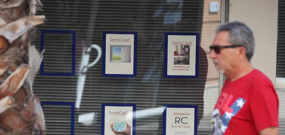 La carestía del alquiler se agrava en Málaga
