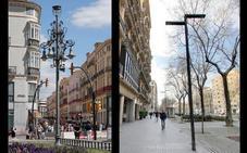 El Ayuntamiento cambiará las farolas de la Alameda por unas de tipo minimalista