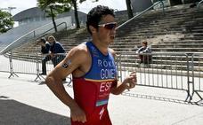 Gómez Noya, segundo en su primer Ironman
