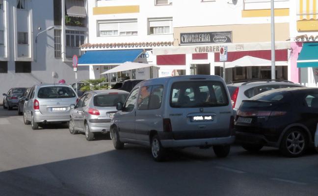 El 60% de las multas de tráfico en Marbella son por parar o aparcar indebidamente