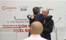 Almuerzo-coloquio sobre 'Innovación y municipios' de Civisur y la Cámara de Comercio