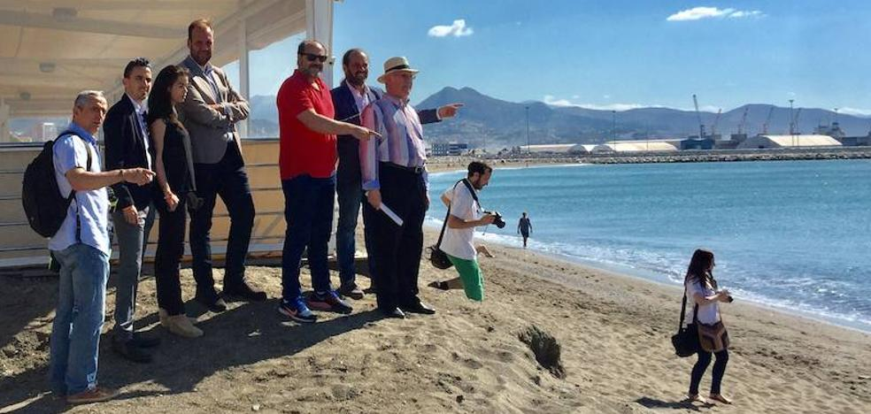 Cassá supera la ronquera y pide espigones para la playa de San Andrés
