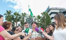 Podemos e IU escenifican el carácter andalucista de la confluencia
