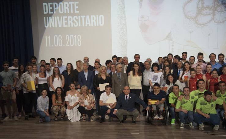La UMA celebra su tradicional Gala del Deporte Universitario