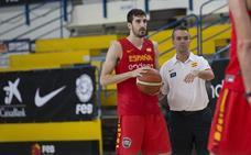 Paco Aurioles y Sánchez Cañete, ayudantes de Scariolo en la selección