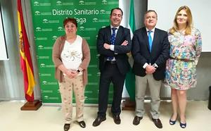 José Luis Gutiérrez, nuevo gerente del distrito sanitario de Málaga y Maximiliano Vilaseca, de la Axarquía