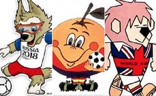 Un repaso por todos los mundiales de fútbol y sus mascotas