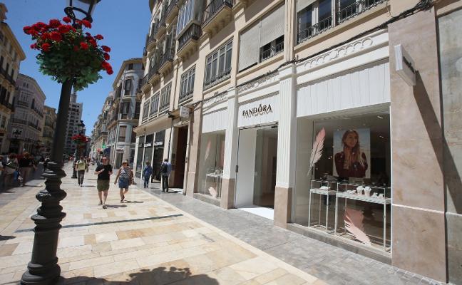 El entorno comercial de la calle Larios renueva su oferta con la entrada de varias tiendas