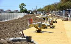 El nuevo parque de Los Boliches estará listo a finales de mes