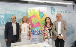 Carmen Calvo, ponente en los Cursos de Verano de la UMA en Marbella