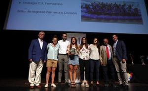 La Diputación de Málaga clausura sus ligas educativas de fútbol y baloncesto con un homenaje a los clubes más destacados