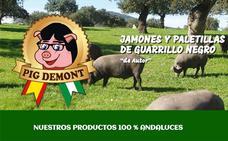 Puigdemont denuncia a la empresa malagueña 'Pig Demont'
