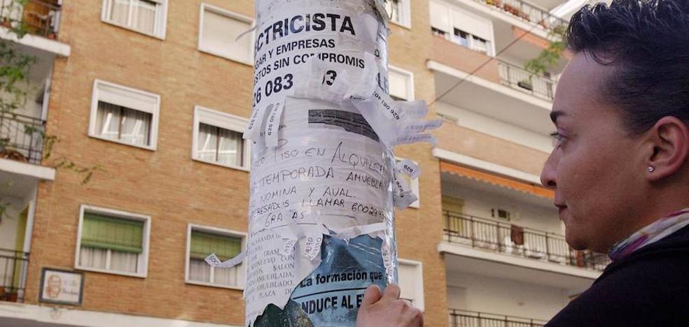 Las ONG alertan del aumento de familias que acuden a pedir ayuda por las subidas del alquiler en Málaga