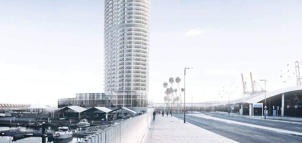 Urbanismo prevé llevar mañana a aprobación inicial el proyecto de la torre del Puerto de Málaga