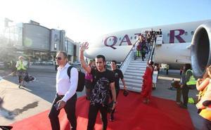 Qatar Airways se estrena en el aeropuerto de Málaga con un vuelo a Doha