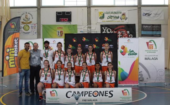 El Palo y el EDMB Teatinos ganan la Copa Federación minibasket