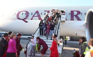 Qatar Airways se estrena en el aeropuerto de Málaga con cuatro vuelos semanales a Doha