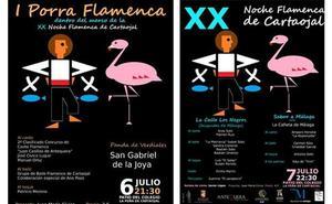 La XX Noche Flamenca de Cartaojal une cante y gastronomía en dos jornadas en julio