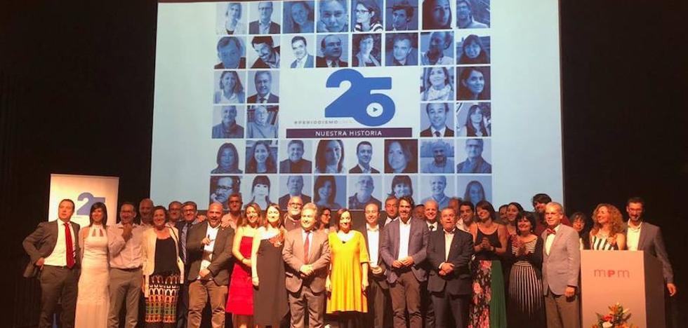 Un cuarto de siglo de Periodismo en la Universidad de Málaga