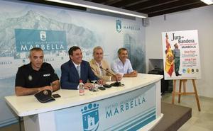 Marbella prevé una multitudinaria Jura de Bandera Civil este domingo