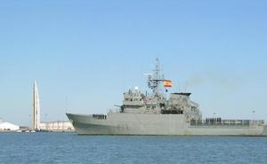 Anulan la escala del patrullero Atalaya en el puerto de Málaga