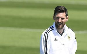 Leo Messi entra en escena