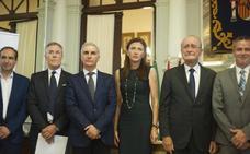 Antonio Garrido recibe el IV Premio Mecenas de la Literatura Andaluza 'Manuel Altolaguirre' a título póstumo