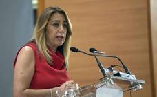 Susana Díaz, sobre un posible pacto PP-Ciudadanos en Andalucía anunciado por Juan Marín: «Si quieren estar en sus batiburrillos, allá ellos»