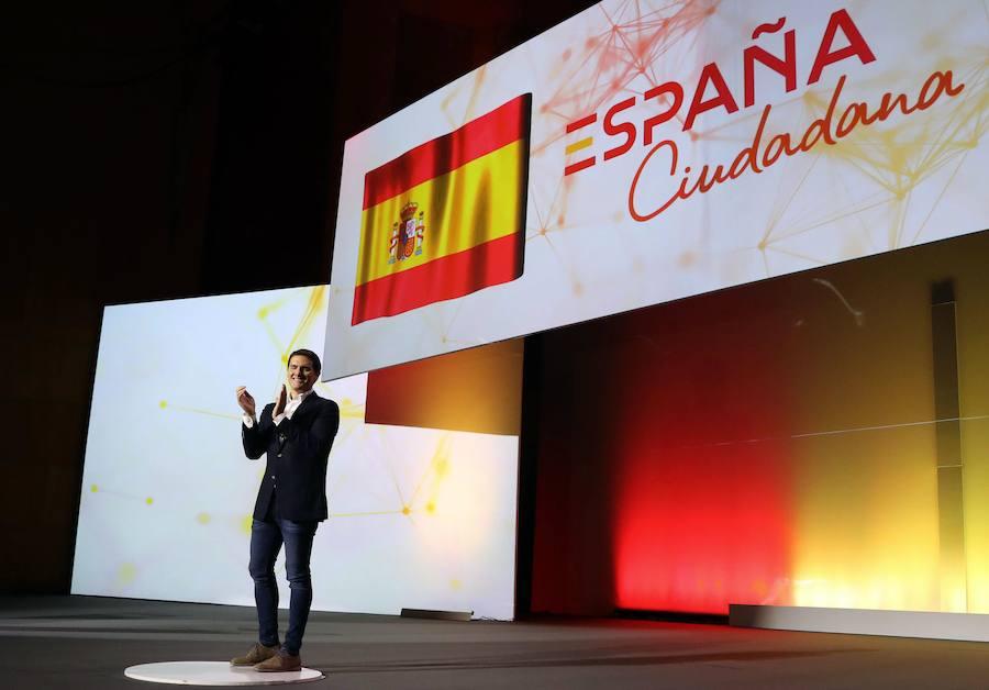 Ciudadanos mide hoy en Málaga sus fuerzas tras la moción de censura