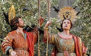 La pasión y muerte de los Patronos de Málaga