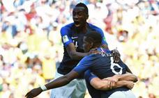La tecnología, protagonista en la victoria de Francia ante Australia