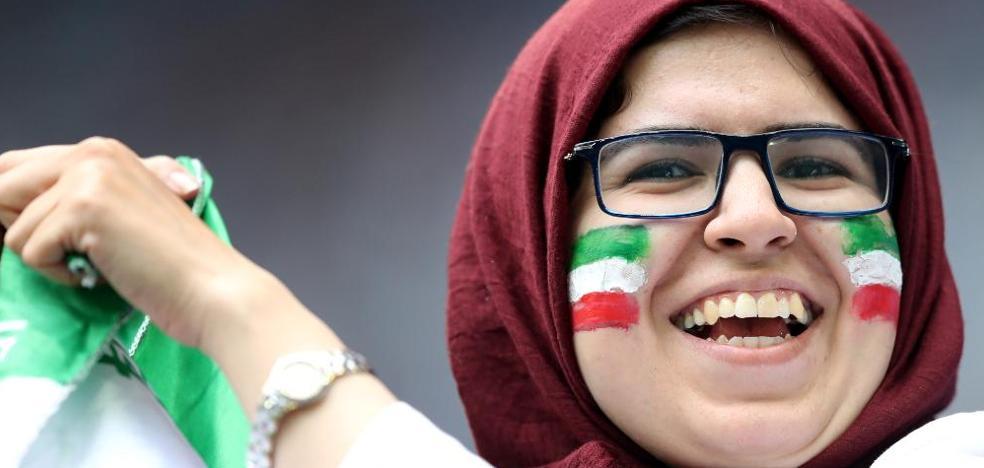 Rebelión iraní en las gradas