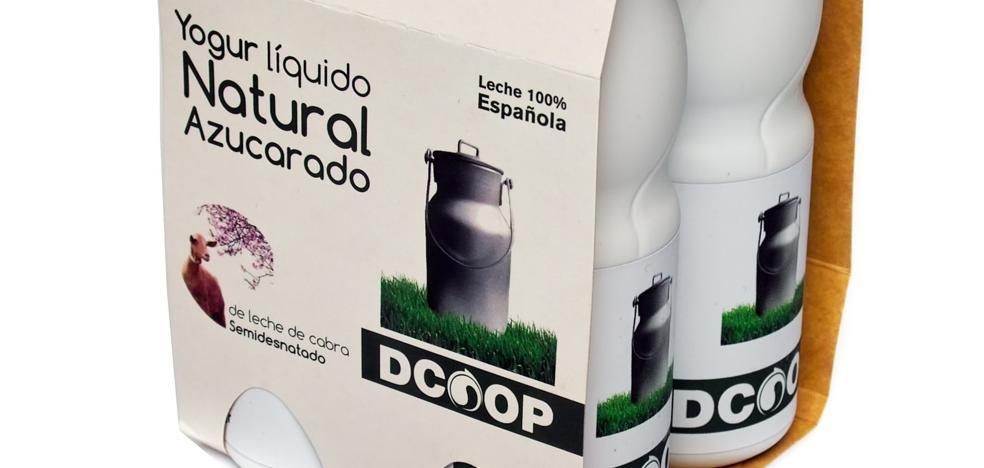 Dcoop lanza un yogur líquido de leche de cabra