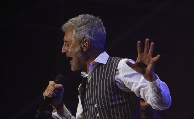 Así ha sido el concierto de Sergio Dalma en Málaga
