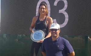 Paula Ruiz se corona en el Nacional de Aguas Abiertas con dos medallas de oro