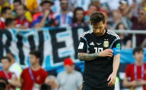 Messi, acorralado