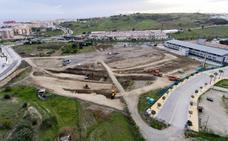 Las obras del estadio de atletismo de Estepona se alargarán cuatro meses más