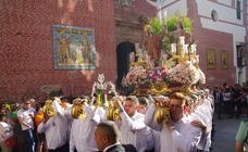 Procesión de los Patronos de Málaga San Ciriaco y Santa Paula