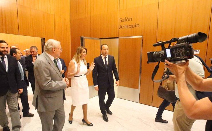 Foro SUR con Susana Díaz: Intervenciones y asistentes