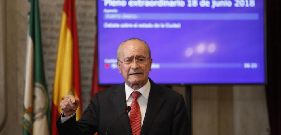 El alcalde de Málaga sorprende y plantea ahora que Limasa sea cien por cien municipal