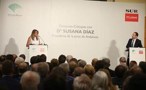 Susana Díaz reivindica la estabilidad en Andalucía y descarta un adelanto electoral