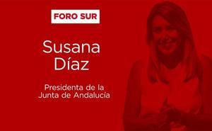 Así ha sido el desayuno-coloquio con Susana Díaz en el Foro SUR
