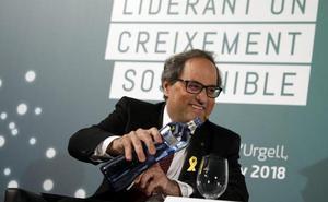 El Supremo archiva la querella de Torra contra Rajoy y Sáenz de Santamaría