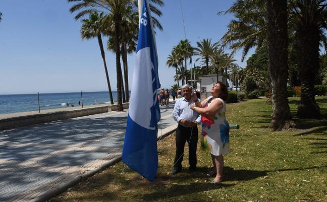 La bandera azul vuelve a ondear en San Pedro